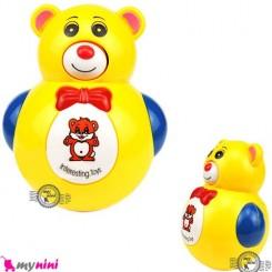 خرس تعادلی موزیکال Bear smart tumbler