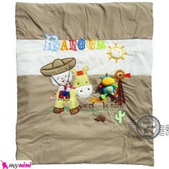 سرویس خواب نوزاد تترون نسکافه ای کابوی Baby Sleeping set
