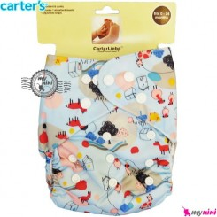 شورت آموزشی 3 لایه آبی مزرعه کارترز Carters reusable diaper