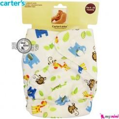 شورت آموزشی 3 لایه میمون و زرافه کارترز Carters reusable diaper