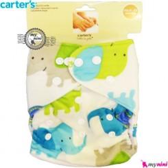 شورت آموزشی 3 لایه فیل سبز کارترز Carters reusable diaper