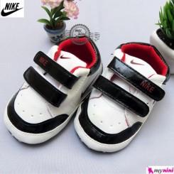 کفش اسپرت نوزاد و کودک نایک سفید مشکی Nike Baby shoes