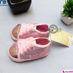 کفش نوزاد و کودک مادرکر صورتی پولکی Mothercare baby Shoes
