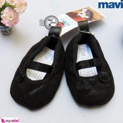 کفش دخترانه مارک ماوی مشکی گلدار Mavi girl shoes