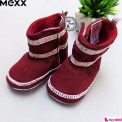 بوت زرشکی بچگانه مارک مِکس Mexx baby shoes