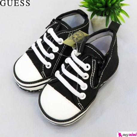 کفش اسپرت بچگانه مارک گِس مشکی Guess baby shoes