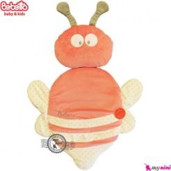تشک و بالش ببتو زنبور گلبهی Bebetto baby mat