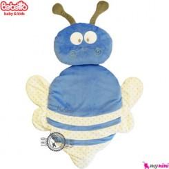 تشک و بالش ببتو زنبور آبی سفید Bebetto baby mat