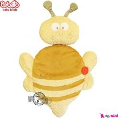 تشک و بالش ببتو زنبور نسکافه ای Bebetto baby mat