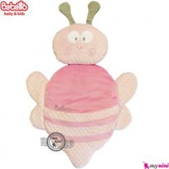 تشک و بالش ببتو زنبور صورتی Bebetto baby mat