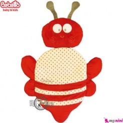 تشک و بالش ببتو زنبور قرمز Bebetto baby mat