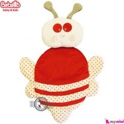 تشک و بالش ببتو زنبور سفید قرمز Bebetto baby mat