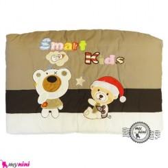 محافظ دور تخت بچه تترون خرس باهوش قهوه ای Protective beds for children