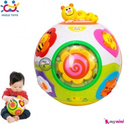 توپ چرخان هویلی تویز موزیکال و آموزشی Huile Toys happy ball