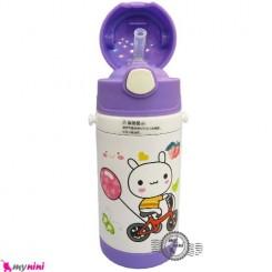 فلاسک و قمقمه استیل خرگوش و بادکنک Baby thermos flask