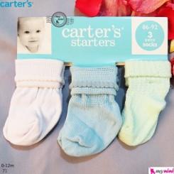 جوراب بچگانه کارترز Carter's baby socks