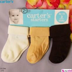 جوراب کارترز بچگانه Carter's baby socks