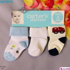 جوراب کارترز کودک و نوزاد Carter's baby socks
