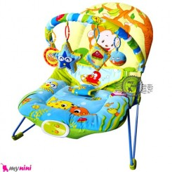 نی نی لای لای و گهواره برقی موزیکال بی بی بونسر Baby swing bouncer