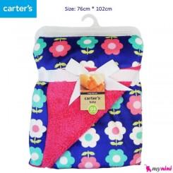 پتو نوزادی گل کارترز Carters baby blanket