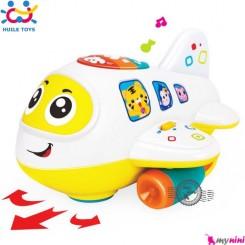 هواپیما هویلی تویز موزیکال و آموزشی Huile Toys airplane