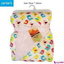 پتو نوزاد و کودک پرنده کارترز Carter's baby blanket