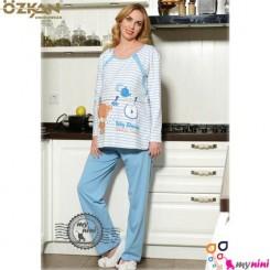لباس بارداری و شیردهی اوزکان ترکیه آبی خرس Ozkan Pregnancy Clothes