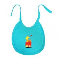 پیشبند نخی نوزاد و کودک طرح قطار به آوران Behavaran Baby Clothes