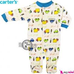 سرهمی کارترز نخی نوزاد و کودک جورابدار چراغ راهنما Carter's baby bodysuit