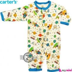 سرهمی کارترز نخی نوزاد و کودک فضایی Carter's baby bodysuit
