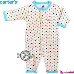 سرهمی کارترز نخی نوزاد و کودک اسمارتیز Carter's baby bodysuit