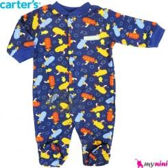 سرهمی کارترز نخی نوزاد و کودک جورابدار زیردریایی Carter's baby bodysuit