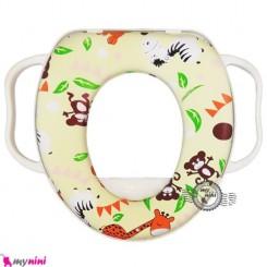 تبدیل توالت فرنگی کودک حیوانات جنگل Zain medical riduttore soft