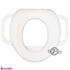 تبدیل توالت فرنگی کودک سفید Zain medical riduttore soft