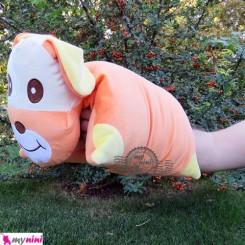 بالش شیردهی نوزاد 2 کاره سگ نارنجی Breast Feeding Cushion