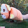 بالش شیردهی نوزاد سگ نارنجی Breast Feeding Cushion