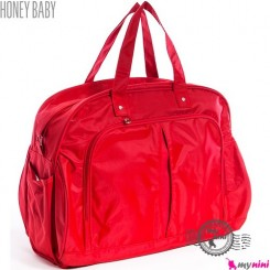 ساک لوازم نوزاد هانی بِی بی ترکیه قرمز Honey baby diaper bag