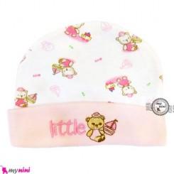 کلاه پنبه ای نوزاد خرس و قایق تایلندی Newborn cotton hat