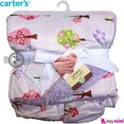 پتو کارترز دورپیچ یاسی درخت Carters baby blanket