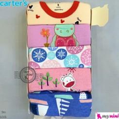 رکابی زیردکمه دار کارترز 9 ماه Carter's sleeveless bodysuits