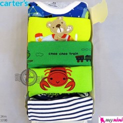 رکابی زیردکمه دار کارترز 24 ماه Carter's sleeveless bodysuits