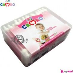 گوش پاک کن محافظ دار کمرُو 60 عددی Camro Baby cotton care