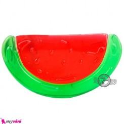 دندانگیر مایع دار نوزاد هندوانه Baby teether watermelon shape