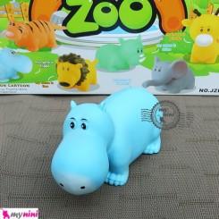 پوپت وان اسب آبی سایز بزرگ Interesting zoo baby bath toys