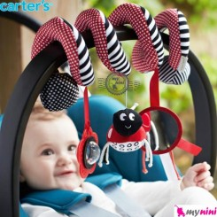 آویز تخت و کریر کارترز کفشدوزک Carter's stroller hanging toys