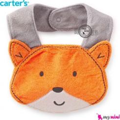پیشبند کارترز عروسکی روباه Carter's baby animal bibs