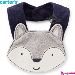 پیشبند کارترز عروسکی سگ اسکیمو Carter's baby animal bibs