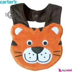 پیشبند کارترز عروسکی آقا ببری Carter's baby animal bibs