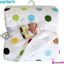 پتو کارترز دورپیچ 2 لایه اسمارتیز Carter's baby blanket
