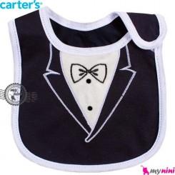 پیشبند کارترز پنبه ای دامادی Carters baby cotton bib